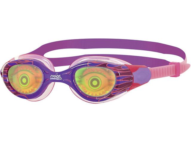 Zoggs Sea Demon Brille Kinder purple/pink